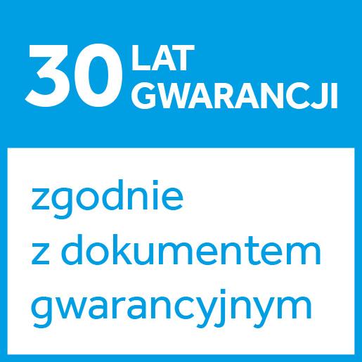 30 lat gwarancji
