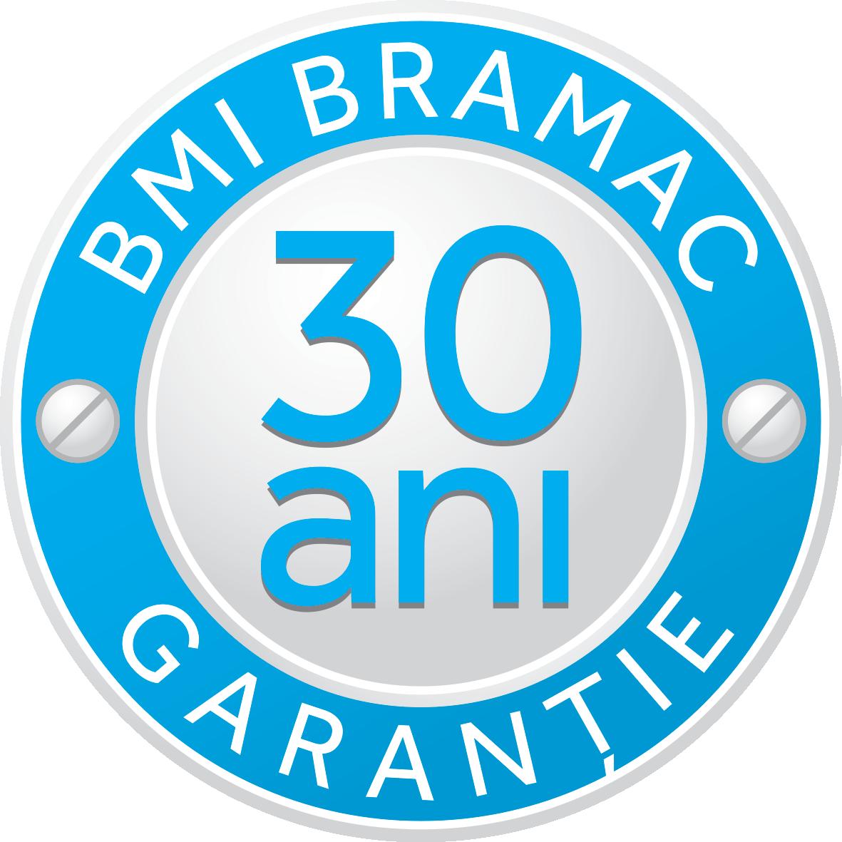 Stampila garantie_30 ani BMI Bramac